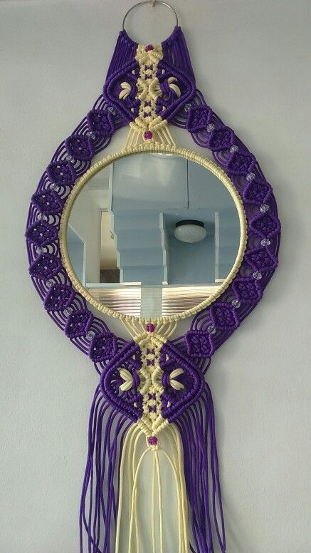 Mirror Macrame                                                                                                                                                                                 Mais