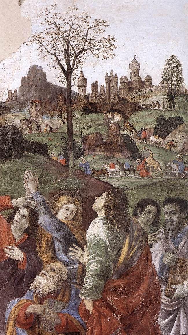 ASSUMPTION Assumption of the Virgin (detail), Filippino Lippi