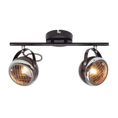Brilliant plafondlamp Rider - blinkend zwart
