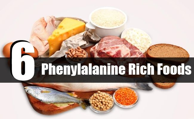 Top 6 Phenylalanine Rich Foods