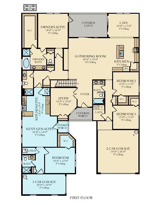 GENESIS W/ BONUS New Home Plan in Palencia North 70's by Lennar  ~ Great pin! For Oahu architectural design visit http://ownerbuiltdesign.com