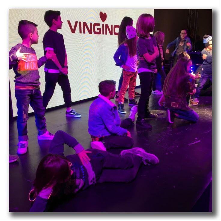 VINGINO LET'S DANCE. Una versione originale e giovane per presentare la nuova Collezione F/W 2017-18, durante il Pitti Bimbo 84.