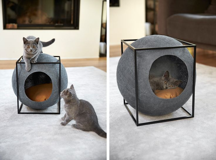 Cat Cocoons Designed To Suit A Contemporary Interior | CONTEMPORIST