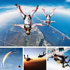 Show her how much you #love her with a double #skydive