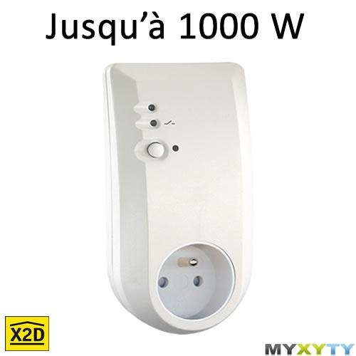 La prise pilotable à distance Myxyty pour contrôler vos appareils électriques depuis votre smartphone ou n'importe quel ordinateur connecté à internet : http://www.myxyty.com/produit/prise-electrique-pilotable-a-distance-sans-fil-frequence-radio-x2d