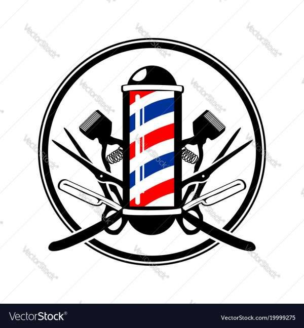 Barber Pole Vector Png