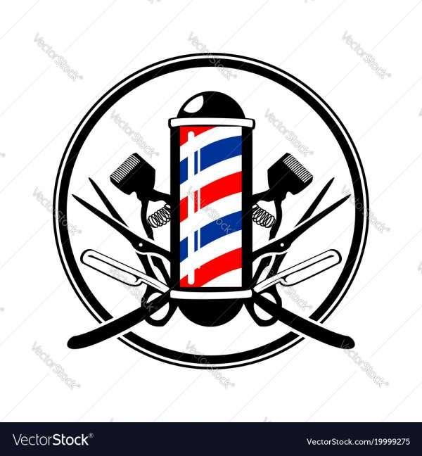 12 Barber Pole Logos Barber Logo Barber Tattoo Barber Shop Decor