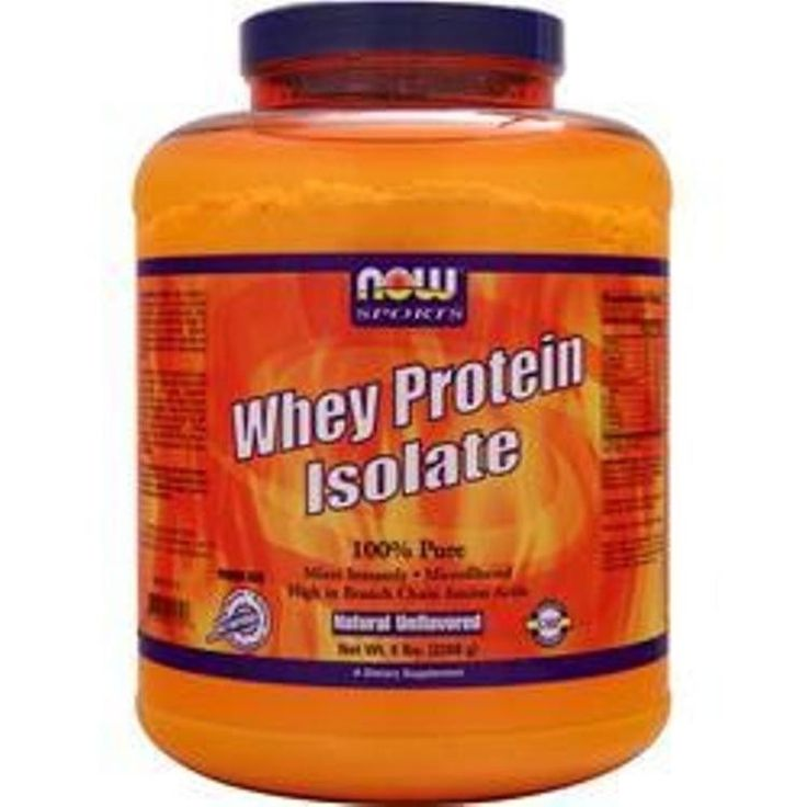 Better quality saves u more! NOW 100% Pure Whey Protein Isolate – Natural in 5 lbs better quality saves more #NOW
