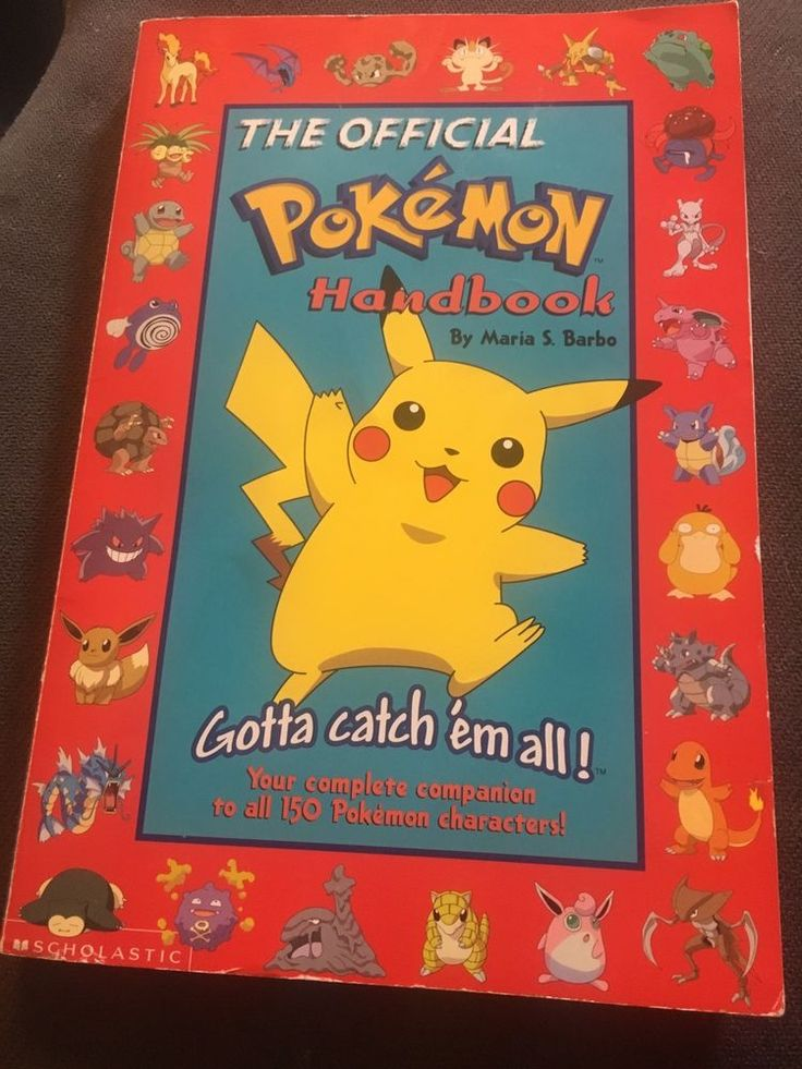 The Official Pokemon Handbook (Gotta Catch 'em All)  by Maria S. Barbo  | eBay