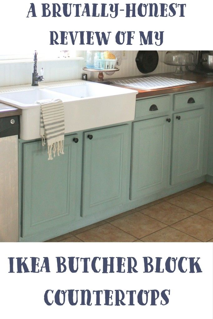 A Brutally Honest Review Of Ikea Butcher Block Countertops Our
