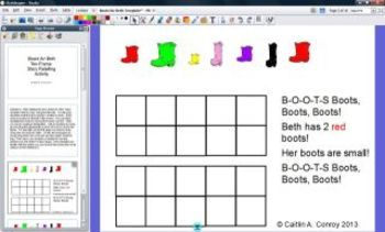 Boots for Beth Ten Frame & Story Retelling Activity with Rondo!