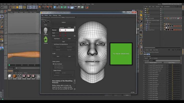 Multi App Workflows - FaceShift & Cinema 4D