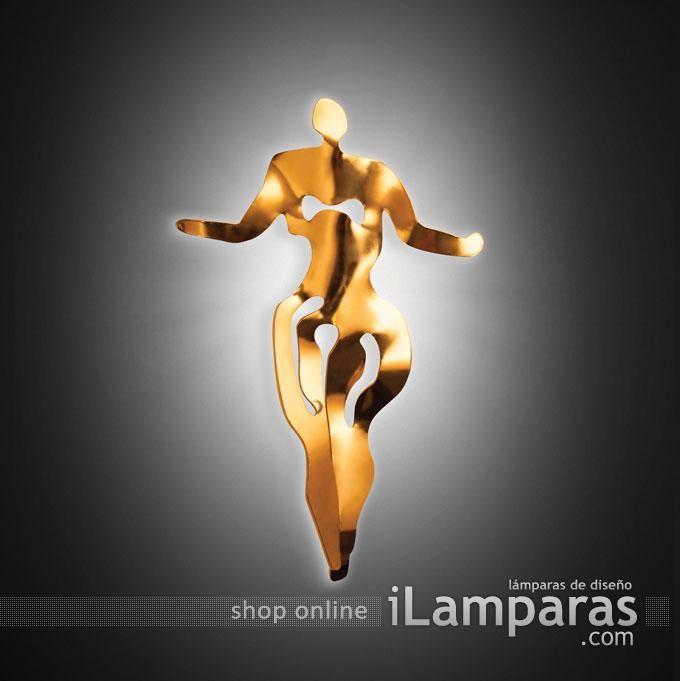 Illuminati aplique donna women 1x65w 2700k (ILL14APPD001O-000) - Slamp / iLamparas.com