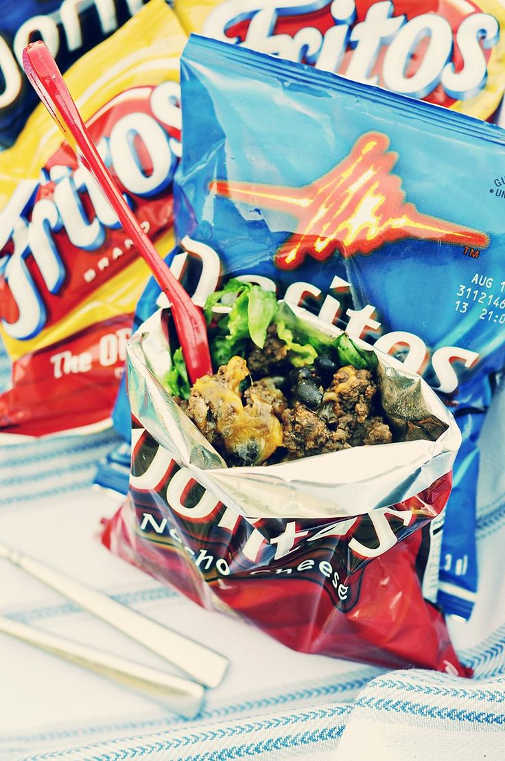 ... (Recipe: Walking Tacos) | Recipe | Walking Tacos, Tacos and Doritos