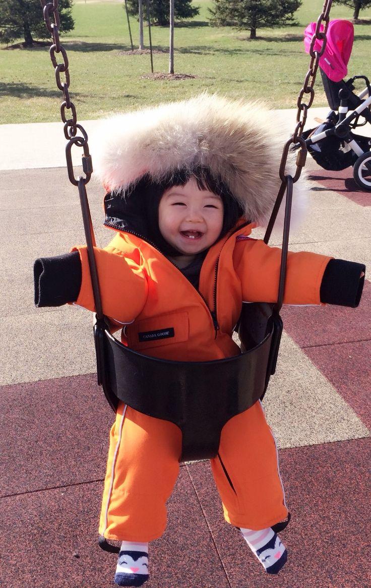 Canada Goose Baby Snowsuit