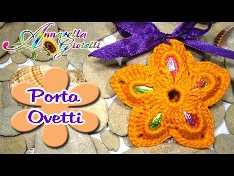 ^___^ Annarella Gioielli ^___^ Ciao ragazze, come promesso vi faccio vedere come realizzare un fiore facile facile al cui interno inserire gli ovetti o i con...