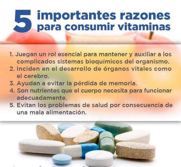 5 IMPORTANTES RAZONES PARA CONSUMIR VITAMINAS