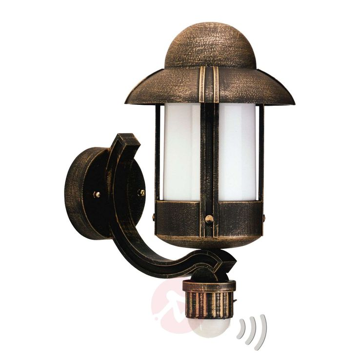 Zewnetrzna Lampa Scienna Dorothee Brazowa Wall Lights Outdoor Wall Lighting Candle Sconces