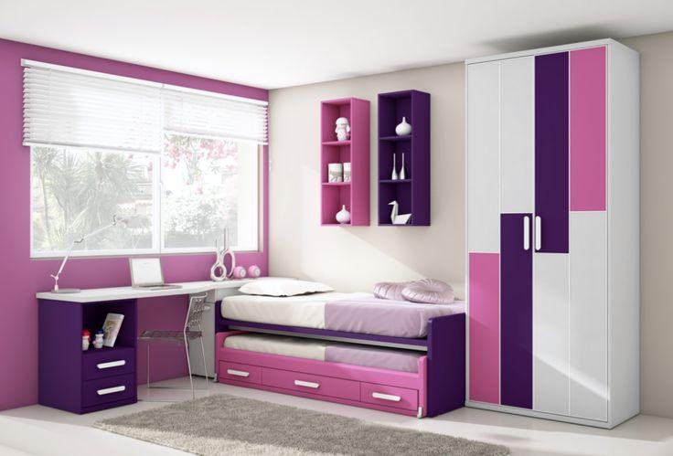 diseño recamara niña tablaroca  Buscar con Google  Bedrooms Sarah