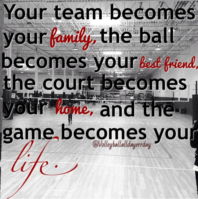 Inspirational sports quotes volleyball