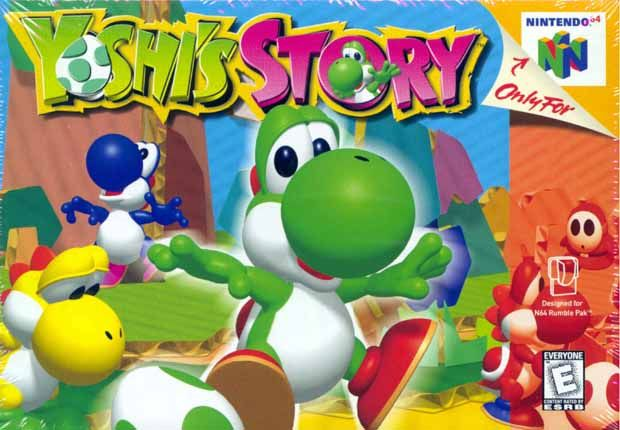 Yoshi's Story N64 by Nintendo. Only video game I really liked