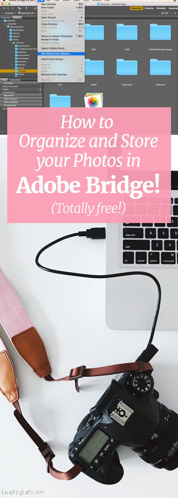 how to organize your photos in adobe bridge totally free a simple system to keep