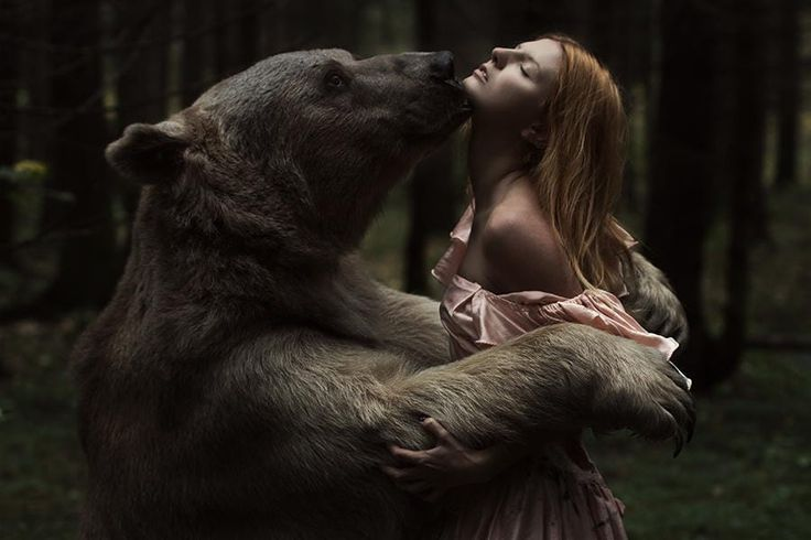 Beauty and the bear by Aleksandra Truhacheva on 500px