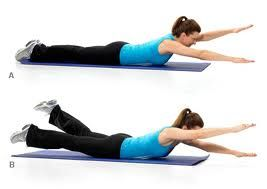 exercises for back fat | ... very good exercises wiith out equipment to get rid of that back fat