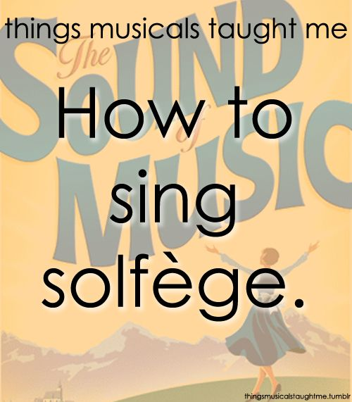 I had forgotten what I learned in choir!
