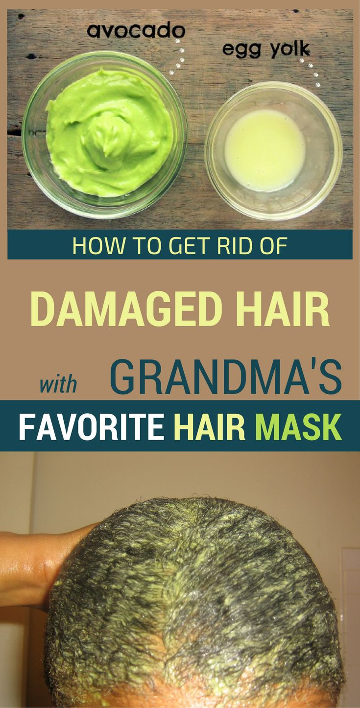 How To Get Rid Of Damaged Hair With Grandma's Favorite Hair Mask