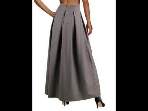 юбка с бантовыми складками.
