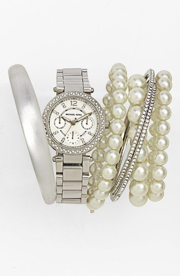 Michael Kors Watch & Bracelets   Nordstrom