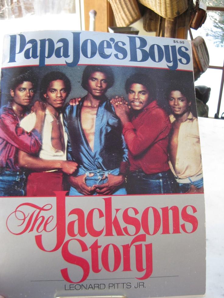 Vintage Papa Joe's Boys The Jackson's Story by Leonard Pitts Jr.. $18.00, via Etsy-VintageByThePound