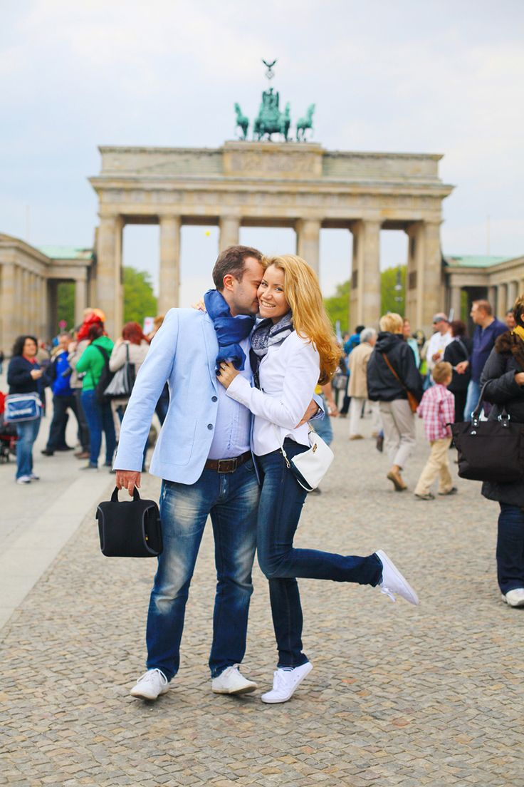 Romantic, playful and simply gorgeous love shoot for Gulnara and Nikolay in Berlin and Potsdam, Germany