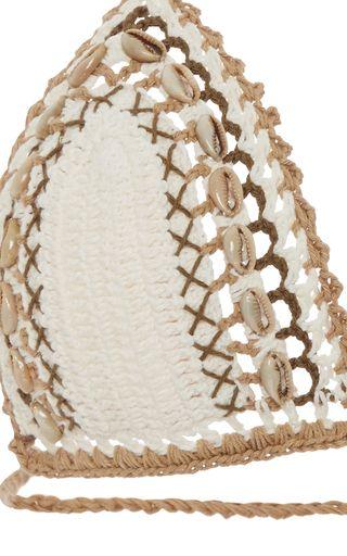 Mihira Crocheted Shell Bikini by SHE MADE ME Now Available on Moda Operandi