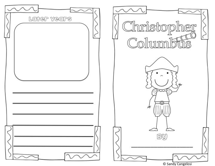 Christopher Columbus; Informational Text; Powerpoint, graphic organizers, vocabulary word wall; $