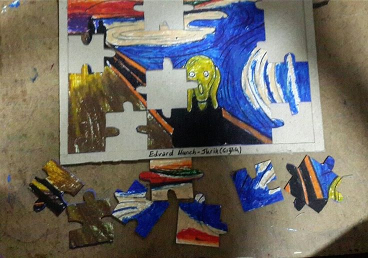 Munch Çığlık Puzzle