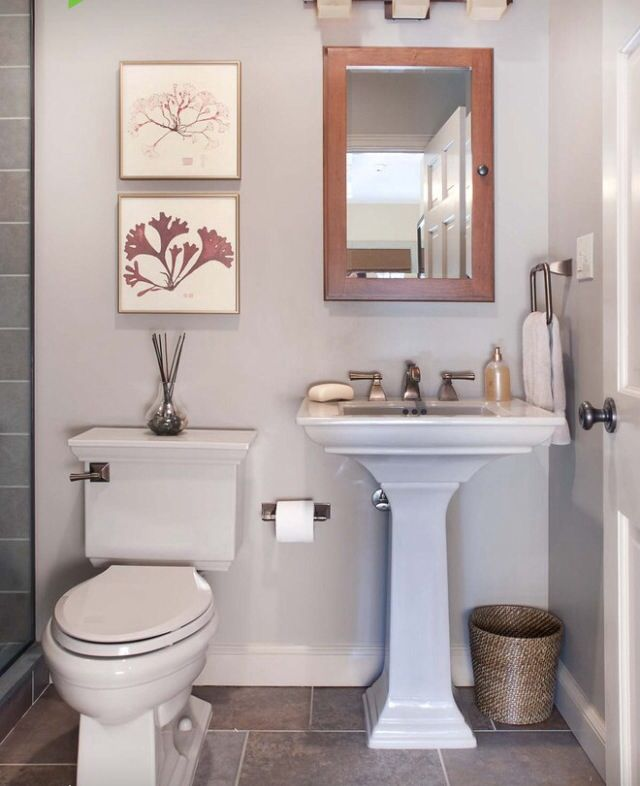 21 Best Powder Room Ideas Images On Pinterest Bathroom Ideas Bathroom Remo