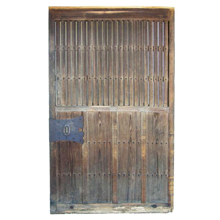 Antique Japanese Door   From a unique collection of antique and modern doors and gates at http://www.1stdibs.com/furniture/building-garden/doors-gates/