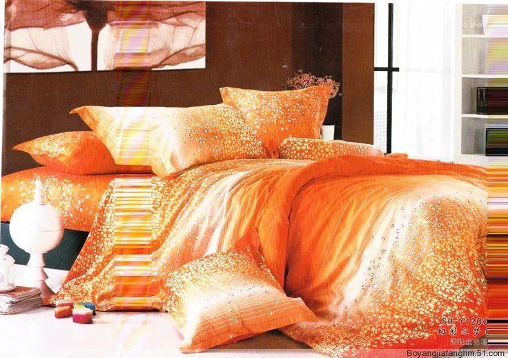 Orange Bedding | Bedroom Ideas Pictures