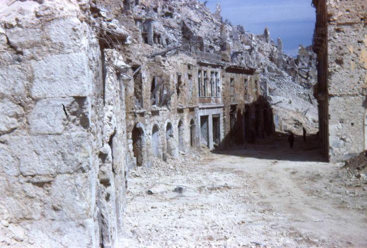 Recopilación de fotos de la batalla de Monte Cassino (4/1 al 19/5 del 44)