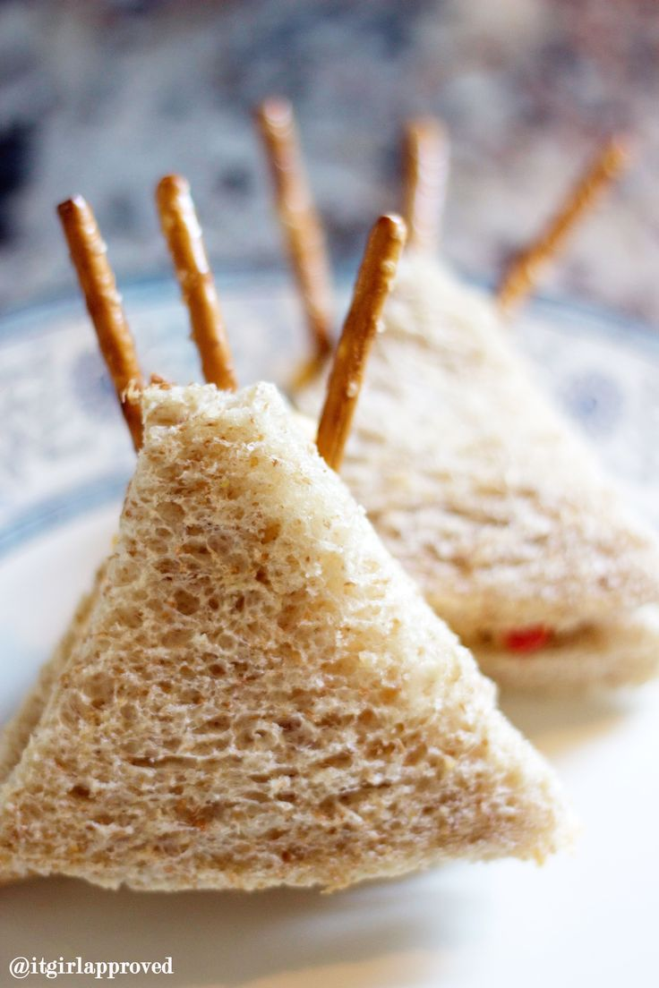 Tribal Party Decor - Teepee Sandwiches - It Girl Approved
