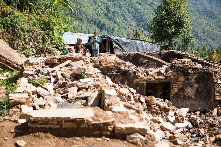 Devastated Nepal - http://itsoilytime.com/devastated-nepal/