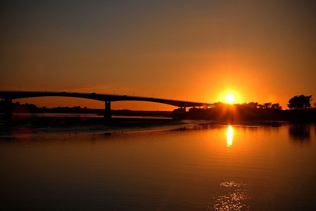 Sunset at Barnstaple
