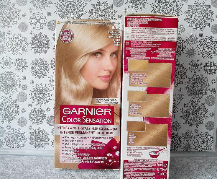 krystaliczny beżowy blond Garnier color sensation https://zeszyturody.blogspot.com/2017/10/farba-do-wosow-garnier-color-sensation.html