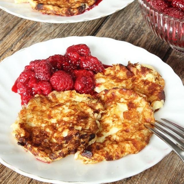 ◀Receptlänk! Nyttiga Kesoplättar att äta till lunch eller frukost i veckan😍😍😍! Supergoda & mättande! #nyttigt #utanmjöl