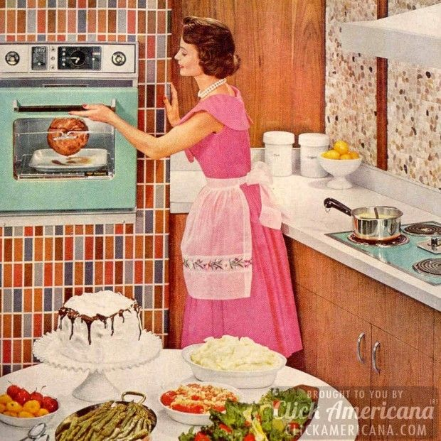 Youngstown Kitchen Cabinets By Mullins: 581 Best Images About Retro Housewife On Pinterest