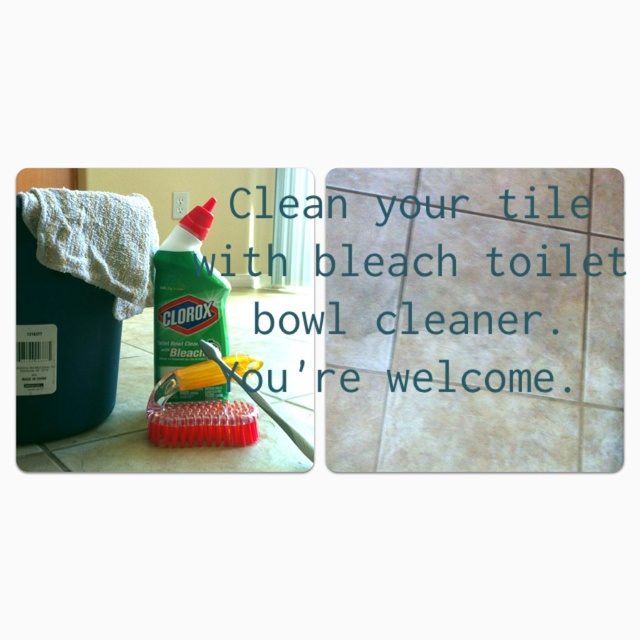 1000 Images About Clean Tile Floors On Pinterest Waxing