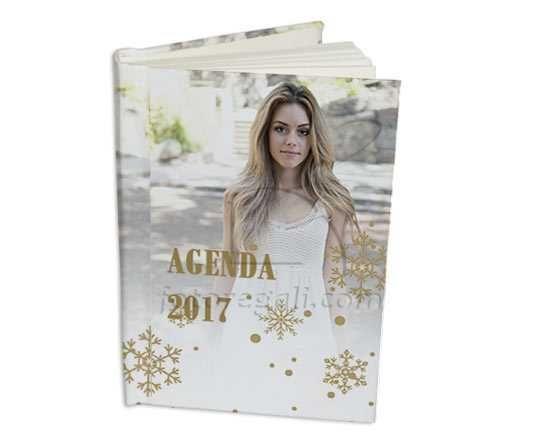 Agenda 15x20 White Christmas