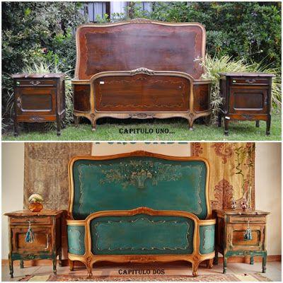 Las 25 mejores ideas sobre muebles chic viejos en - Muebles antiguos pintados de blanco ...